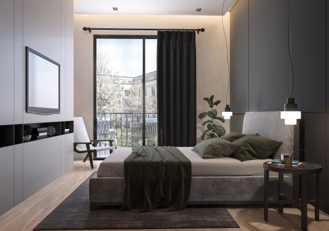 APARTMENT BEDROOM   Collaboration with Geos Group Hungary