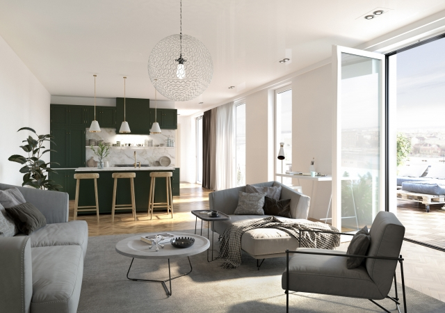 LIVING ROOM   Collaboration with Geos Group Hungary